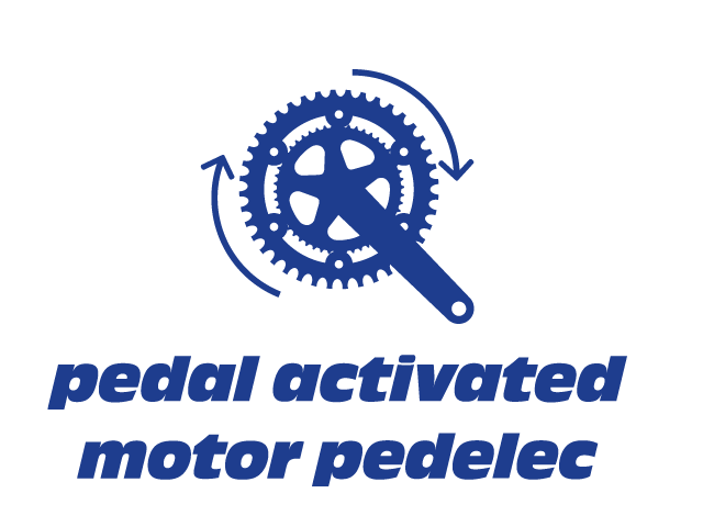 PEDAL ACTIVATED MOTOR PEDELEC